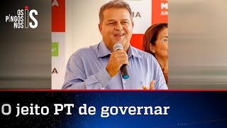 Após eleição, prefeito do PT aumenta o próprio salário