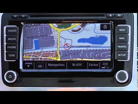 Volkswagen TV Navigationssystem RNS 510 YouTube