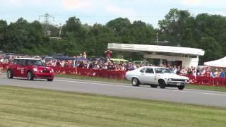 preview picture of video 'Mini John Cooper Works vs. Chevy Nova - Race@Airport Landshut 2014'