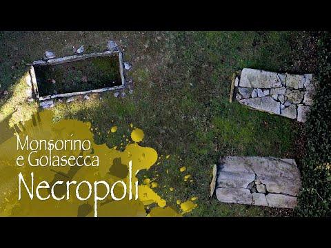 In volo sopra due antiche necropoli del Varesotto
