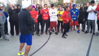 Mayweather vs Pacquiao Manny Shadow Boxing Sick Speed - week 2 esnews boxing