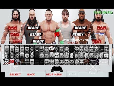 WWE 2K19 PSP full iso mod patch Complete For Svr11 PSP