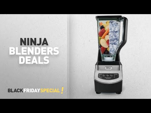 Walmart Top Black Friday Ninja Blenders Deals: Ninja Professional Blender (NJ600WMBF)