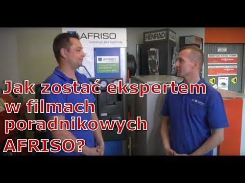 Wywiad z AFRISOExpertem Przemkiem Herdziną - filmy poradnikowe z instalatorem - AFRISOpl