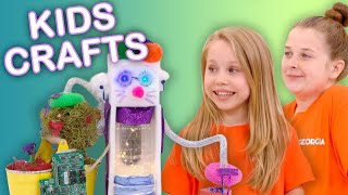 Make a Toy Robot! 🤖 | KIDS CRAFTS | Universal Kids