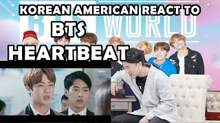 BTS HEARTBEAT MV(KOREAN AMERICAN REACTION)