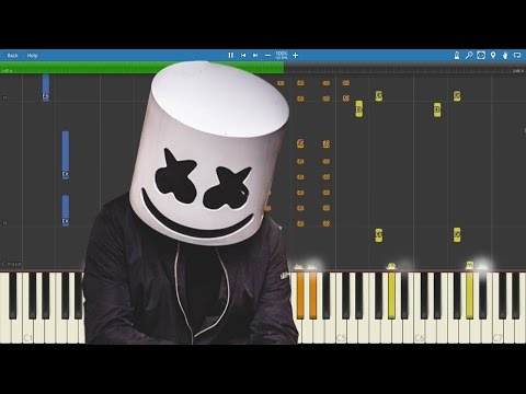 Marshmello - Summer - Piano Cover / Tutorial