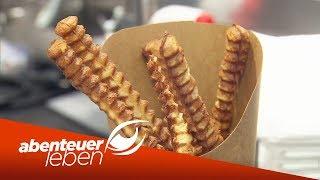 Pommes aus Waffelteig & Schokolade aus'm Drucker - Food-Trends 2019   Abenteuer Leben   kabel eins