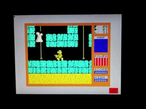 Raspberry Pi running the Fuse ZX Spectrum Emulator