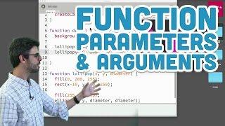 5.2: Function Parameters and Arguments - p5.js Tutorial