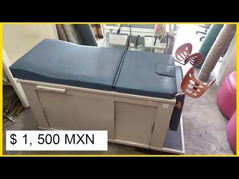 Mesa de revisión ginecológica $1,500 MXN. (mesa de exploracion)