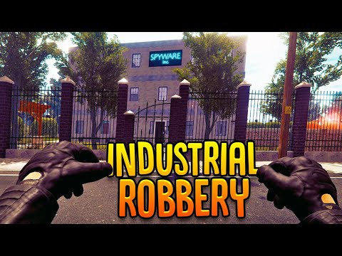 Robbing Big Businesses - Industrial Street Is Here! - Thief Simulator Gameplay