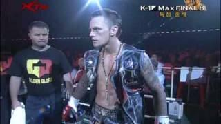 K-1 World Max Final 8 Nieky Holzken vs Buakaw por Pramuk deel 1