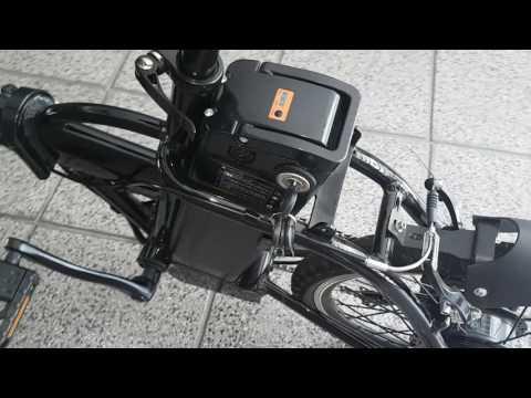 Bicicleta Eléctrica Plegable ET Town 36V40