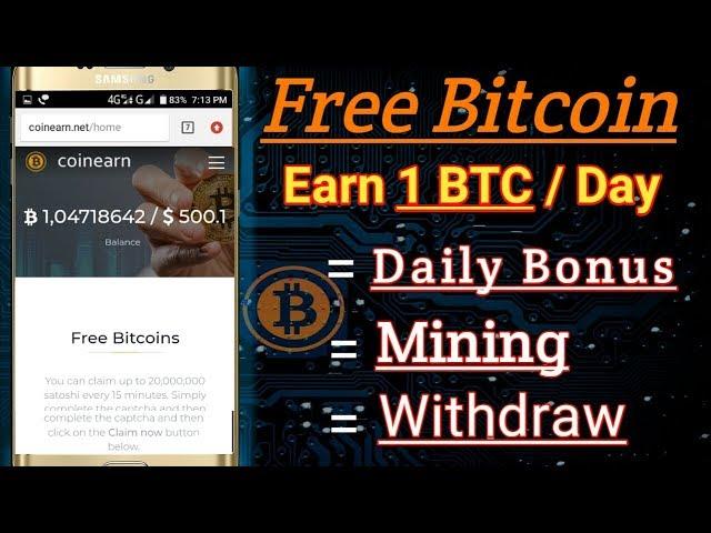 free bitcoin earning tricks