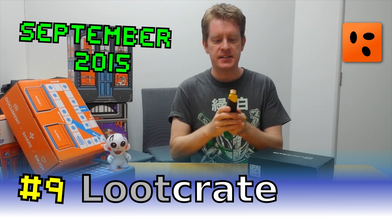Mailbag Lootcrate | September 2015 – Summon