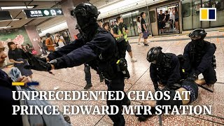 Violence erupts in Hong Kong's Prince Edward MTR: Extended Video