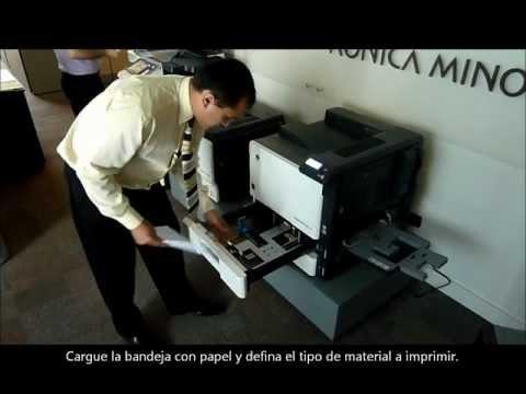 Magicolor 8650dn KONICA MINOLTA: Cómo imprimir Duplex