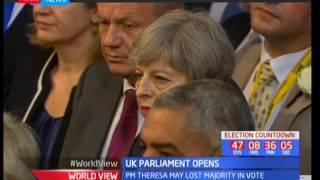World View :  UK parliament opens
