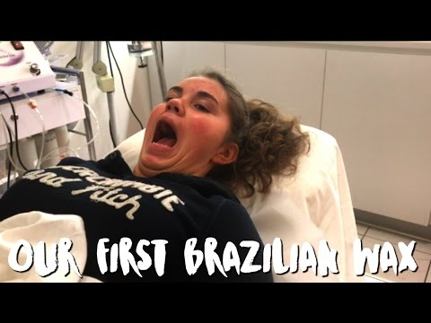 FIRST BRAZILIAN WAX EXPERIENCE | WARNING LANGUAGE