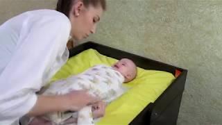 Пеленки. Обзор. Пеленание новорожденного.