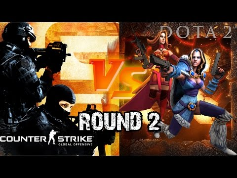 The Battle Of Dota Heroes Versus Counter-Strike Soldiers Wages On