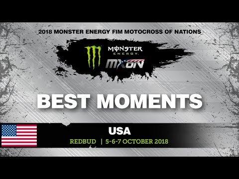 MX2 Best Moments - Monster Energy FIM Motocross of Nations 2018
