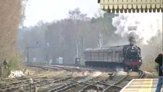 preview picture of video '1Z96 Black Five 44932 Passes Brookwood 11/3/12'
