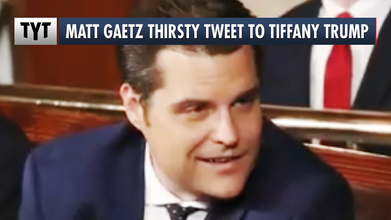 Matt Gaetz to Tiffany Trump: How You Doin'? thumbnail
