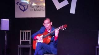 Diego de Morón en el Tablao Flamenco Las Tablas