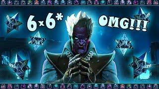 [OMG!!!] 6 6* Кристаллов | Марвел Битва Чемпионов|6 6* Crystals Marvel Contest of Champions