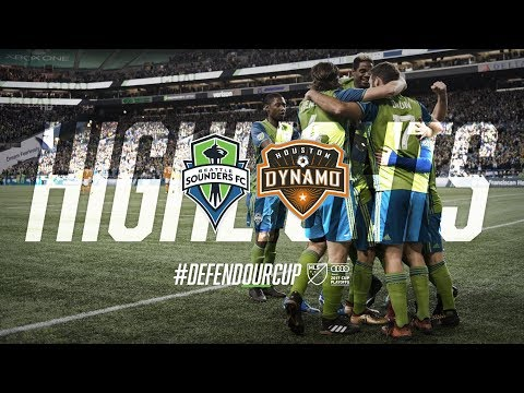 Highlights: Seattle Sounders FC vs Houston Dynamo | November 30, 2017 | Western Conf. Championship
