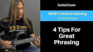 4 Tips for Great Phrasing | Creative Soloing Workshop