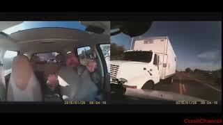 Авто аварии (ДТП) - Видео изнутри салона (УЖАС!)