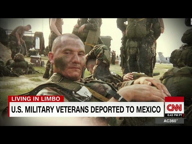These US military veterans were deported to Mexico