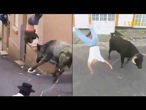 Lidi vs. býk