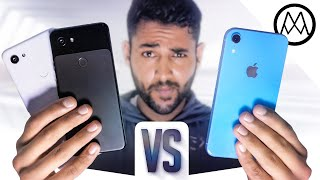 Google Pixel 3a vs Apple iPhone XR