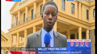 NASA and IEBC plead their cases in front of three judge bench