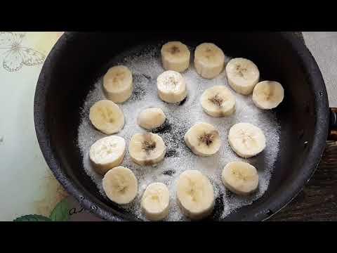 Рецепт ТОРТА из одного яйца и Одного банана!
