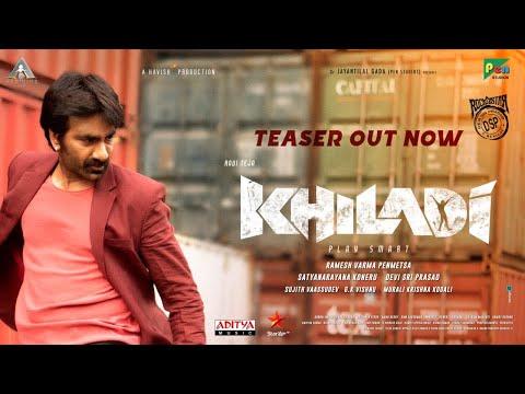 Khiladi Telugu Movie Teaser