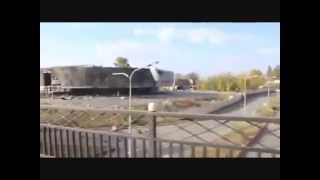 Ukraine War. Donetsk airport outside view | Ukraine News Today (7.10.2014)