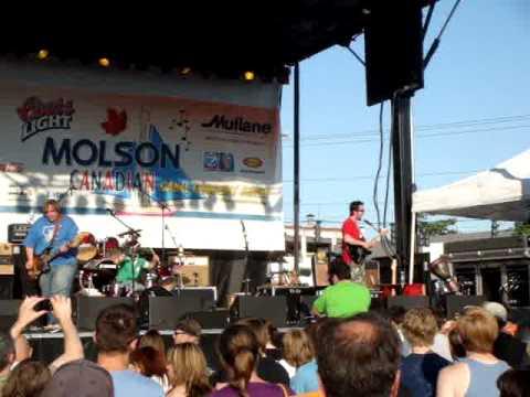 "BEARHUNTER - ""White Crayon"" - Molson Canal Concert - Lockport, NY - 6/26/2009"