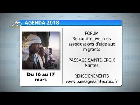 Agenda du 5 mars 2018