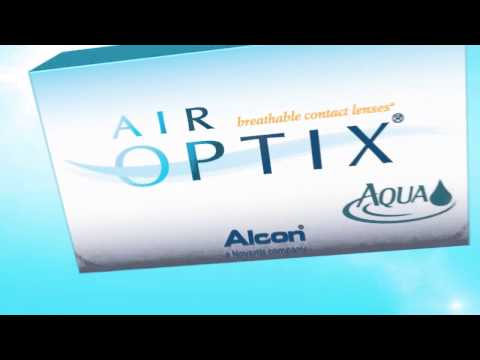 Air Optix Aqua Contact Lens Plasma Surface Technology