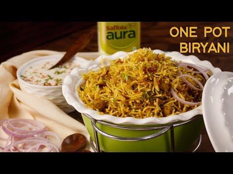 Kabuli Chana Biryani – One Pot Easy Dinner Recipes – Veg Hyderabadi CookingShooking