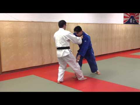 How to do a Judo foot sweep- Deashi barai