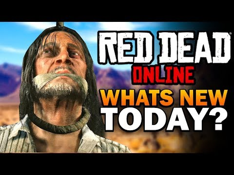 Red Dead Online Update - Whats New Today?