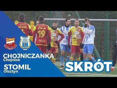 Skrót meczu Chojniczanka Chojnice - Stomil Olsztyn