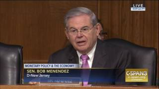 Menenedez Asks Yellen to Prioritize Diversity at Federal Reserve, Regional Banks