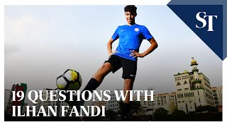 19 Questions With Ilhan Fandi   The Straits Times